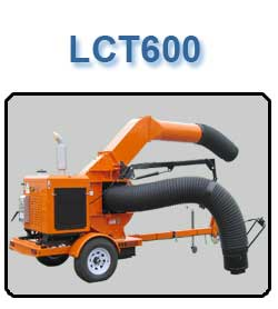 LCT600 Leaf Vacuum Collector