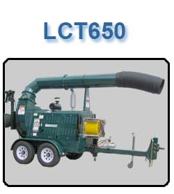 LCT650 Leaf Vacuum Collector